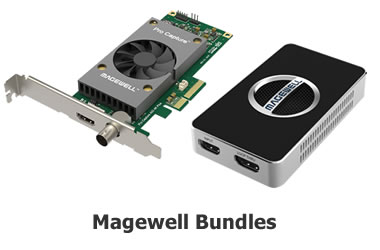 Shop magewell capture card bundles