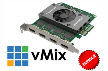 Shop 4x HDMI with vMix Bundle