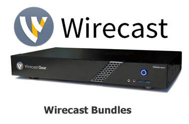 Shop Wirecast Gear and Wirecast bundles