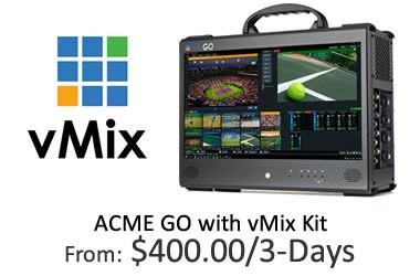 ACME GO with vMix Kit