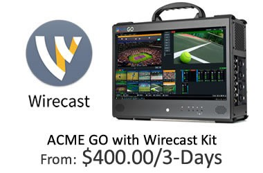 ACME GO with Wirecast Kit