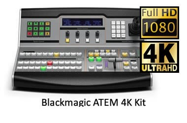 Blackmagic ATEM 4k Kit