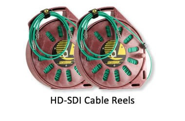 HDSDI 200 ft cable Reels