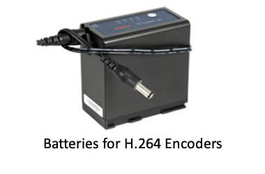 Batteries for portable encoders