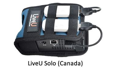 LiveU Solo with LTE