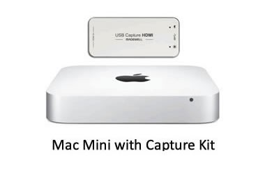 Mac Mini Capture Kit