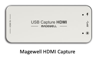 Magewell HDMI to USB Capture