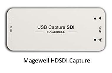 Magewell SDI to USB Capture