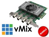 4-Input HDSDI Capture + vMix Bundle