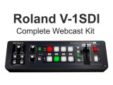 Roland V-1SDI Video Switcher Complete Webcast Kit