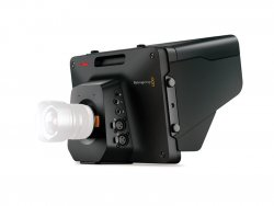 Blackmagic Studio Camera HD side view