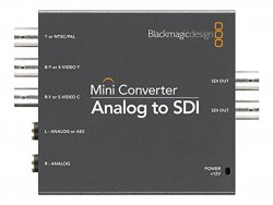 Blackmagic analog to SDI converter