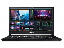 Live streaming laptop with vMix Pro software