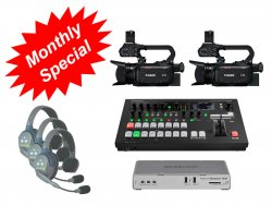 2-Camera Webcast Kit - Rental
