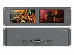 Blackmagic SmartView Duo 4k front & back view