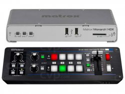 Roland V-1SDI and Matrox Monarch HDX
