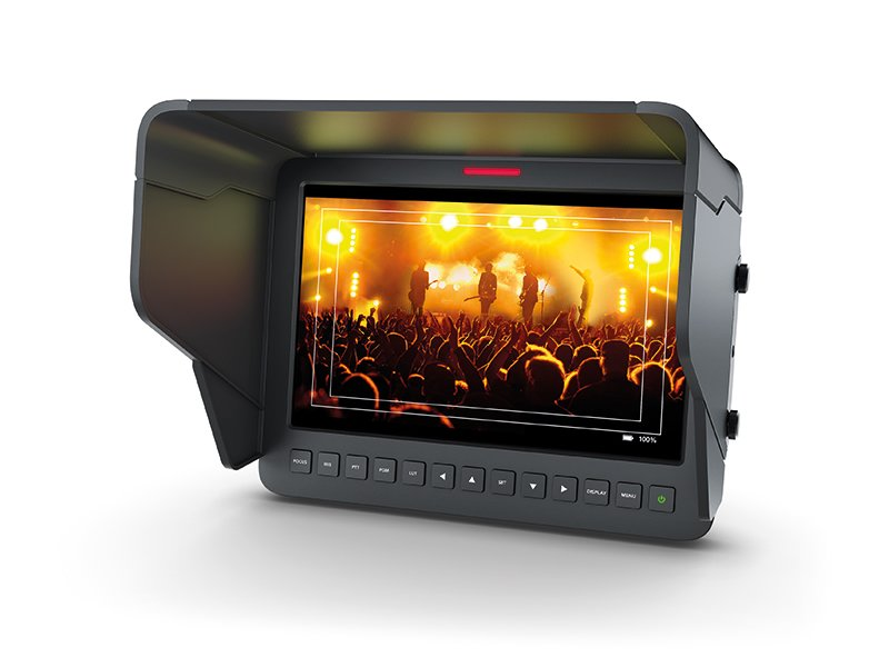 Blackmagic Studio Camera HD monitor