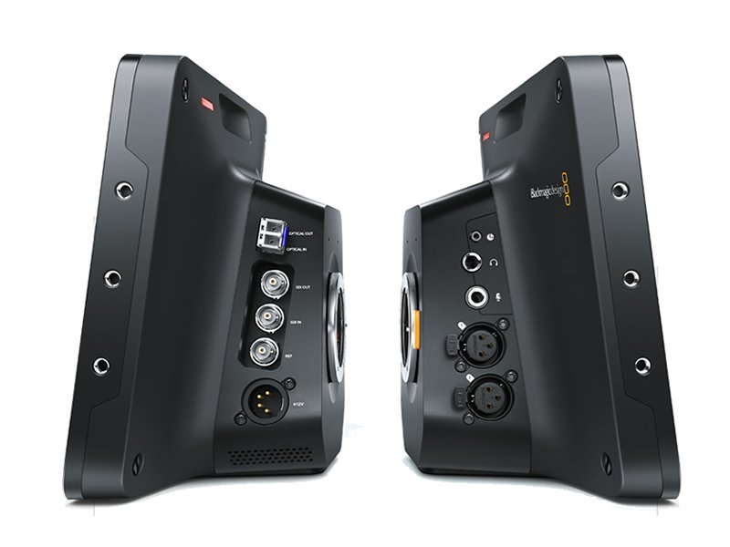 Blackmagic Studio Camera HD connectors