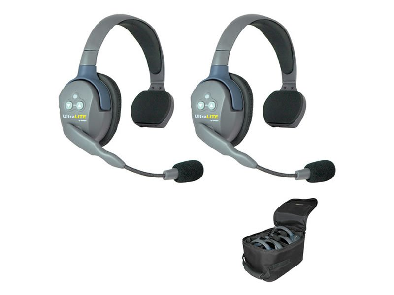 Eartec UltraLITE 2-Person Wireless Headsets