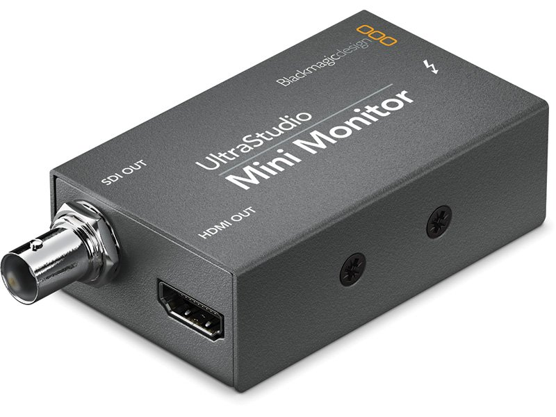 Blackmagic Design UltraStudio Mini Monitor side view