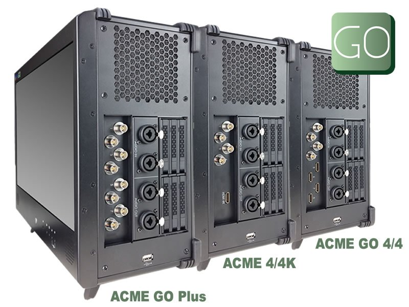 ACME GO 4/4K Portable Live Production Solution