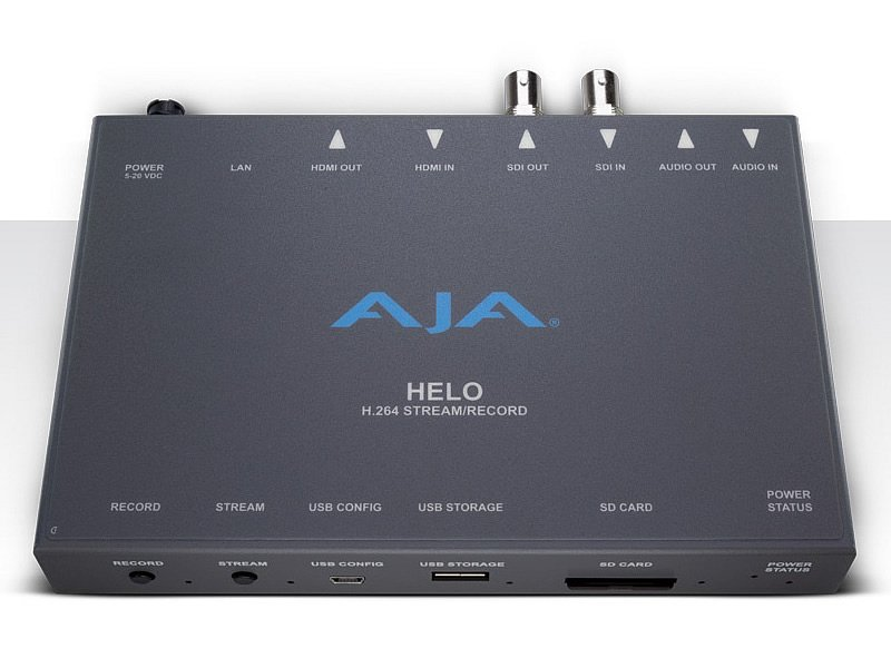 AJA Helo front view