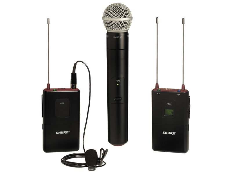 Shure Wireless Microphones Kit - Rental