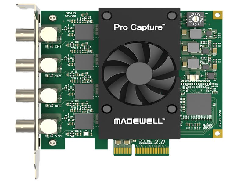 Magewell Pro Capture Quad SDI + vMix Bundle