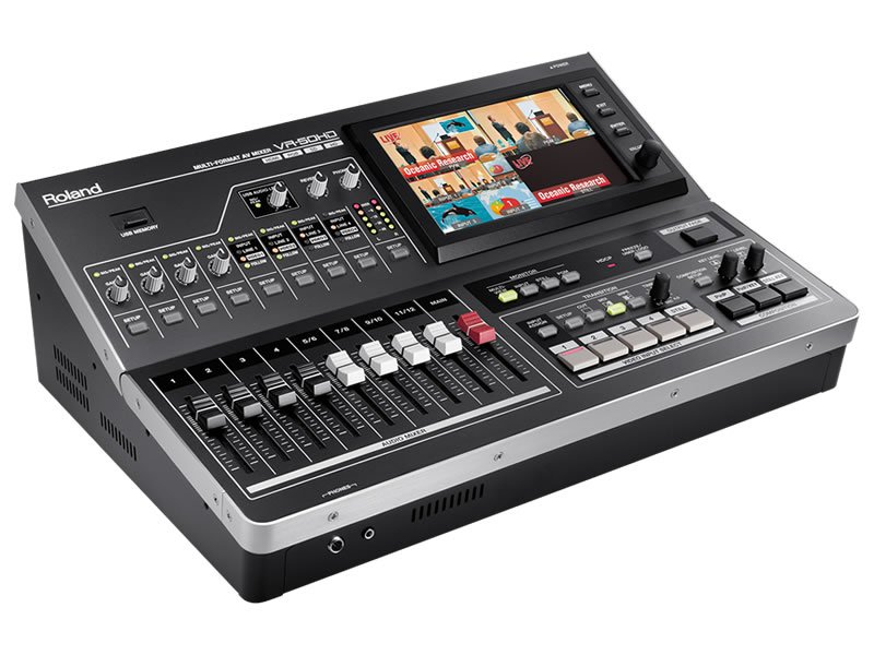 Roland VR-50HD All in One Mixer - Rental