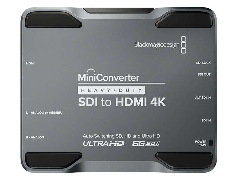Blackmagic Mini Converter SDI to HDMI Heavy Duty - Rental