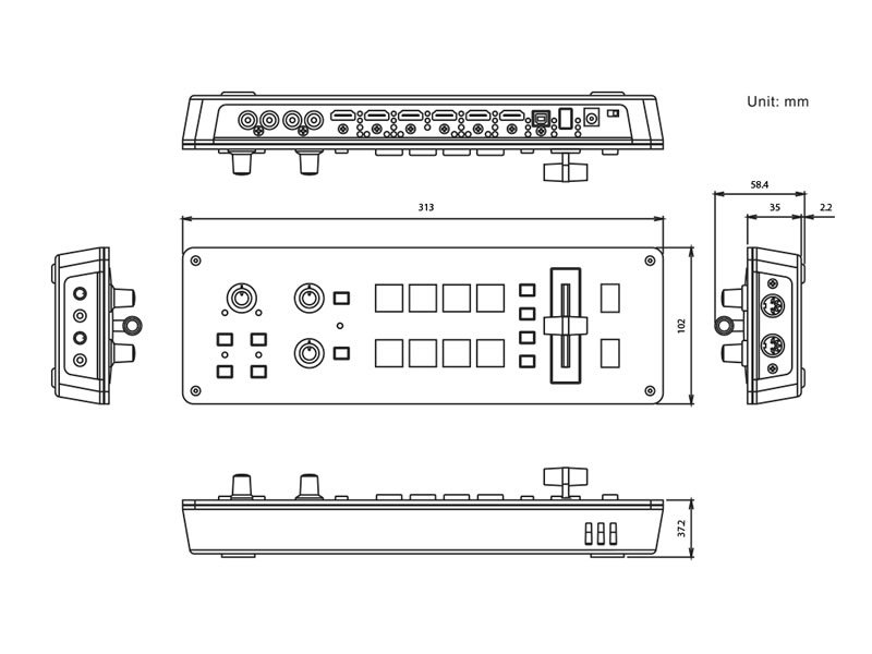 Roland V-1HD specifications