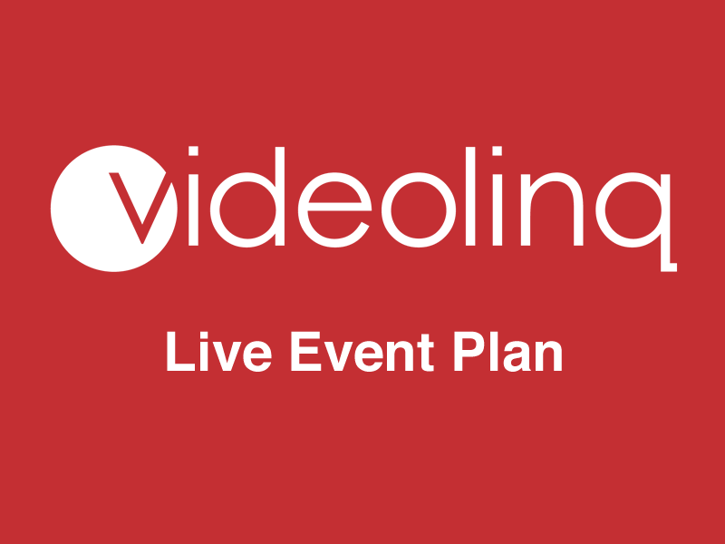 Videolinq Live Event Broadcasting