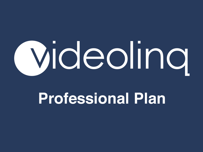 Videolinq Professional Monthly Plan